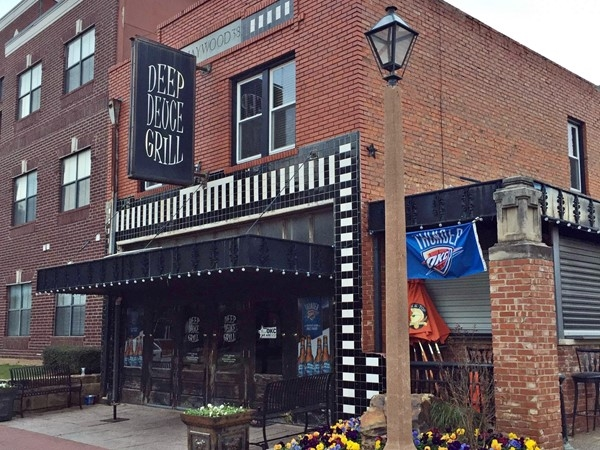 "The Deep Deuce Grill in Bricktown is one of the best ""bar and grills"" in Oklahoma City"