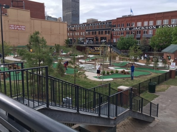 Great family fun in the Bricktown district