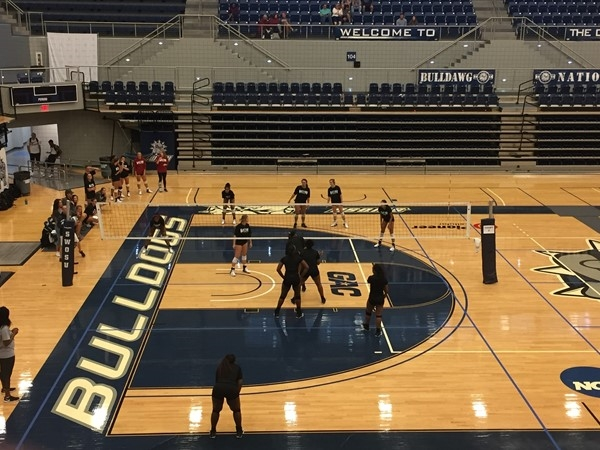 School is back in session and SWOSU has lots to offer like this volleyball action
