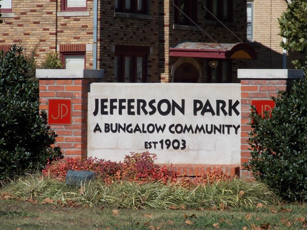 Historic Jefferson Park is a  bungalow community nestled in the urban core of Oklahoma City