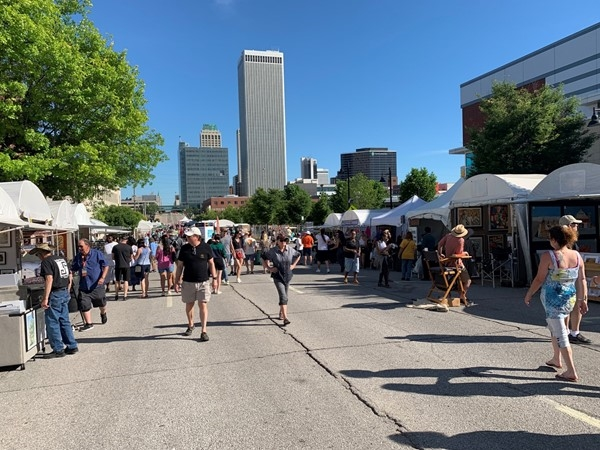 Midtown Tulsa Mayfest