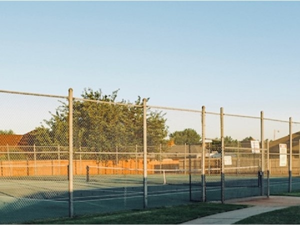 Summit Place tennis courts