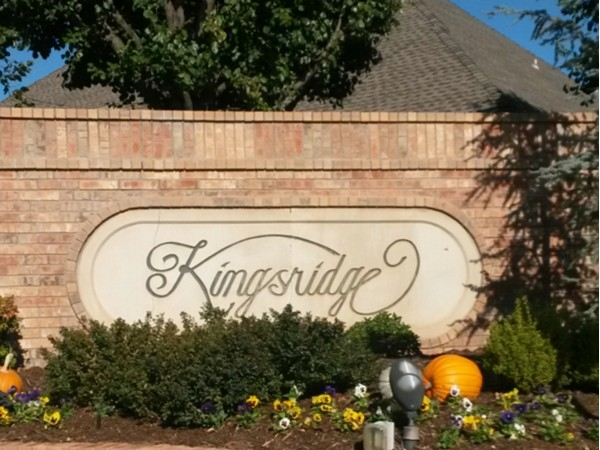 Kingsridge is one of Yukon's finest neighborhoods! Easy access to Turnpike, I-40 and schools