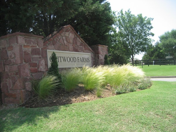 Welcome to Chitwood Farms, an Edmond gated community