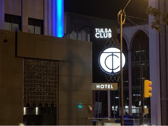 Tulsa has a new restoration of another historic hotel!!  The Tulsa Club is back