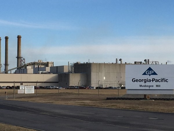 Georgia Pacific, Muskogee's largest private employer