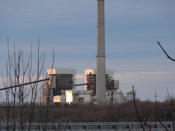 AEP power plant in Oologah, Ok receives coal daily from Gillette, Wyoming