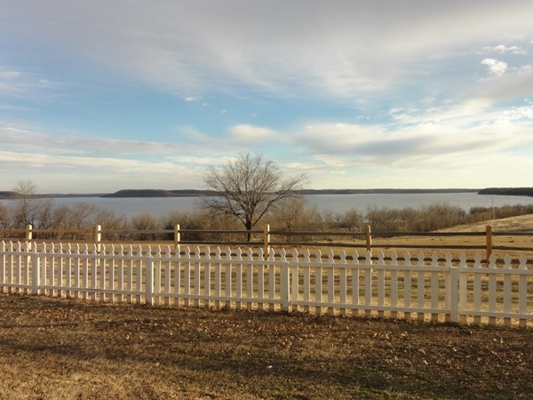 View of Oologah Lake from the Dog Iron Ranch in Rogers County
