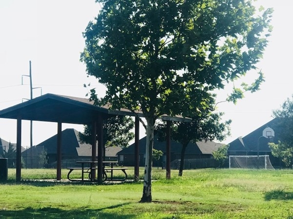 Summit Lakes Subdivision picnic pavilion and soccer field