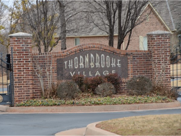 Welcome to Thornbrooke Village in Southeast Edmond