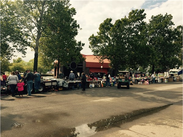 Ackley Park hosts fun events including a yearly flea market
