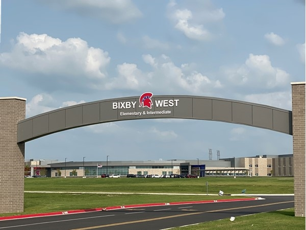 Spartans are #1!  Bixby West Campus is near Presley Heights