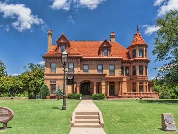 The Overholser Mansion was the first mansion built in OKC in 1903 by Henry and Anna Overholser