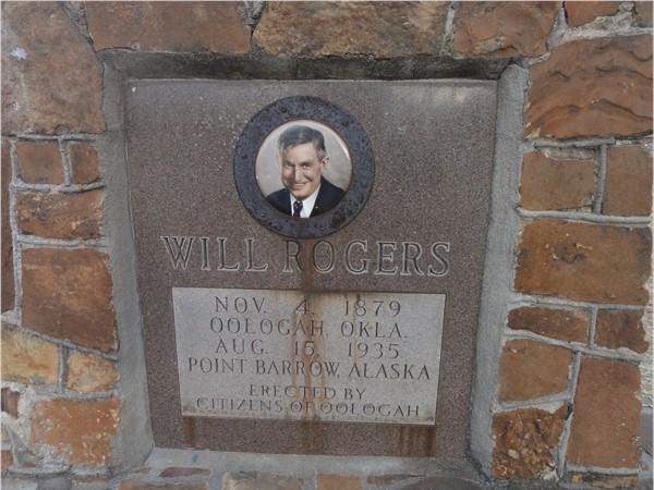 Oologah Ok is Rogers County birthplace to Will Rogers