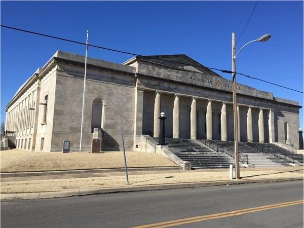 Masonic Temple in Muskogee