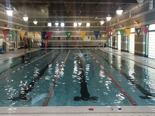 The water is great at the Downtown YMCA pool