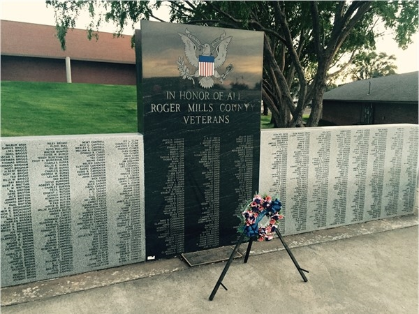 Honoring those who served from Roger Mills County