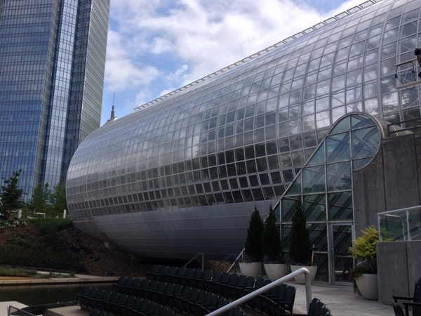 Love our Myriad Gardens Botanical Center in Downtown Oklahoma City. Membership is affordable