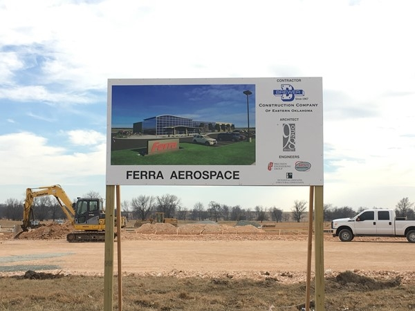 Ferra Aerospace is bringing in about 100 new manufacturing jobs to the Grove Area