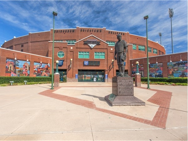 Chickasaw Bricktown Ballpark. Home of the Oklahoma City Dodgers