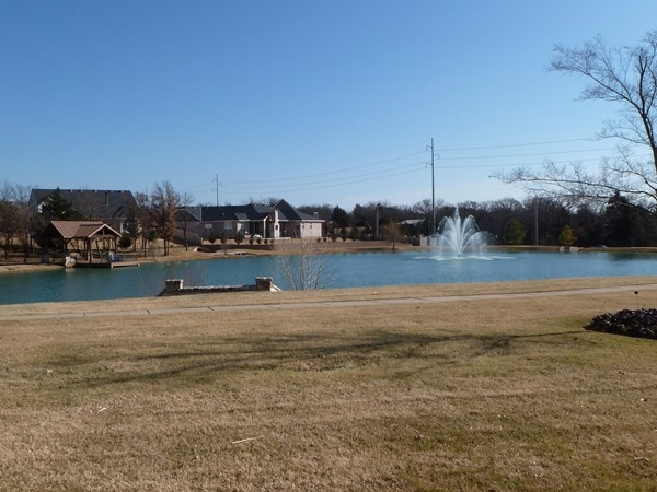 Enjoy the paddle boats and fishing dock