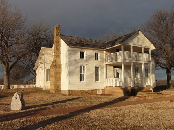 Take a tour of the birthplace of Will Rogers. The home over looks Oologah Lake in Rogers County