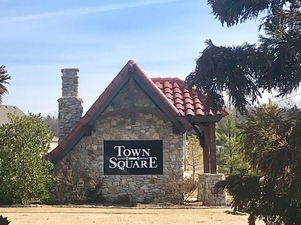 Entrance to Town Square