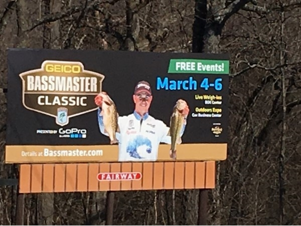 2016 Bass Master Classic March 4-6 on Grand Lake