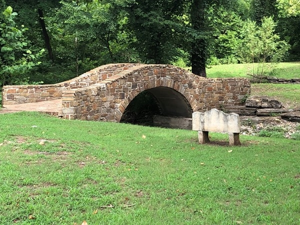 Throughout the neighborhood you will find unique old world style bridges