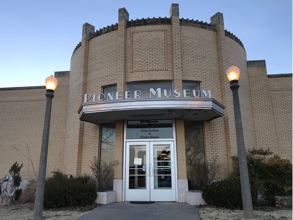 Pioneer Museum is free to the public and has so much Oklahoma history on display