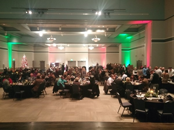 Realtor Christmas Dinner and Induction at the Convention Hall in Enid