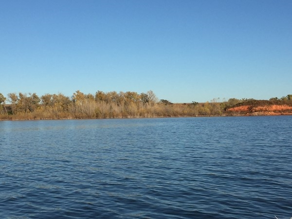 Fall at Foss Lake is beautiful this time of year