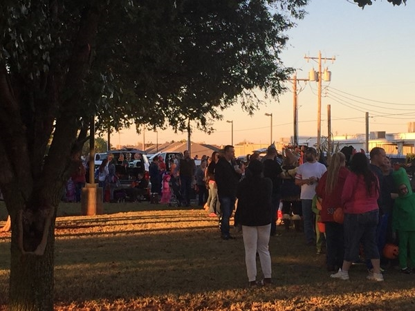 Another awesome year at Trunk or Treat hosted by Mustang United Methodist Church
