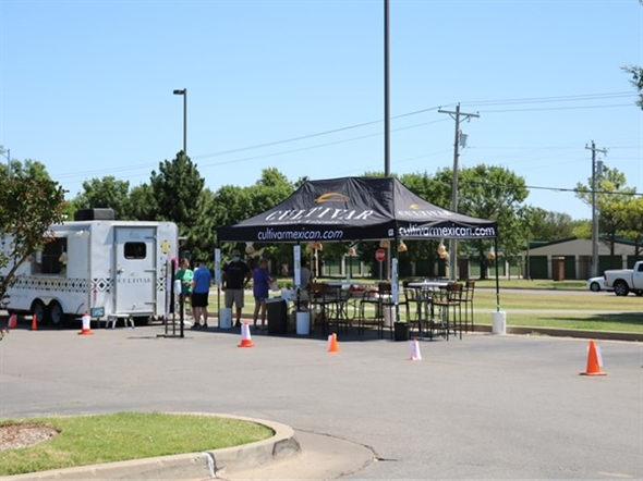 Cultivar Food Truck at the YMCA in SOKC