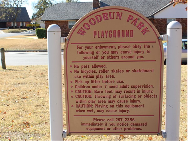 Playground in Woodrun