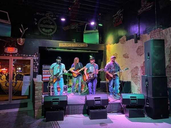 Enjoy live music and cold beer at the historic Grady's 66 Pub in Yukon