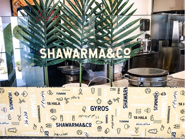 Quick, healthy and delicious - Shawarma & Co is best!  Try the Gyro Bowl and Grape Leaves