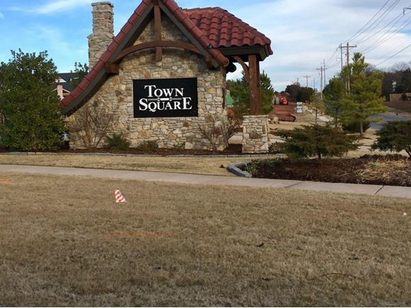 Town Square Subdivision in Edmond